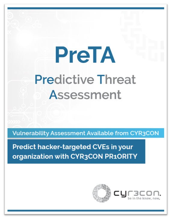 Predictive Threat Assessment Cover